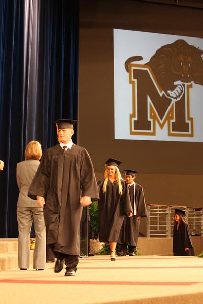 2011 Mansfield High School Graduation