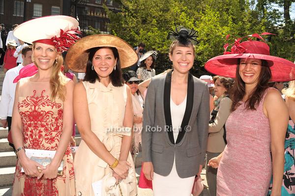 Stephanie Hessler, Toni Lauto, Alison Brokaw,  Shirin Christoffersen photo by Rob Rich/SocietyAllure.com © 2014 robwayne1@aol.com 516-676-3939