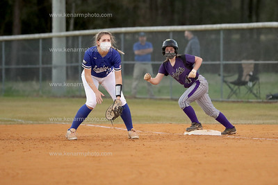 West Bladen vs East Bladen softball 3/29/21