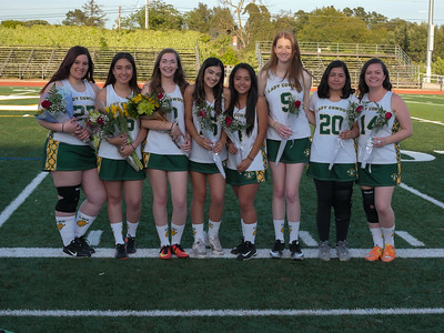 180504 LHS-GHS VARSITY WOMEN'S LACROSSE (SENIOR NIGHT)