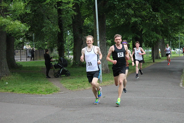 Sri Chinmoy Races 2 Miles, Wednesday 13 June 2018