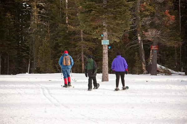 Snowshoeing in Bend