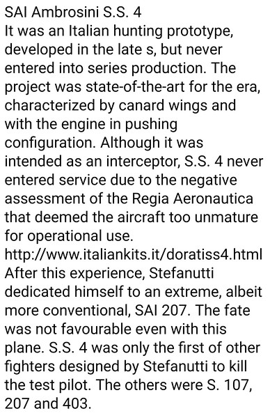 Italian War Planes