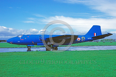 Canberra Easter Egg Colorful Military Airplane Pictures