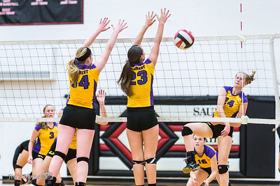 HS Sports - DeForest Volleyball - Sept 24, 2015