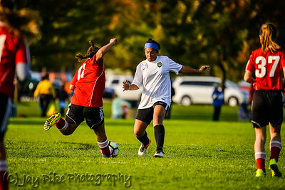 October 22, 2016 - PSC 04 Girls White - Game