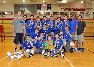 Boys Volleyball County Playoffs 2010 - 2011