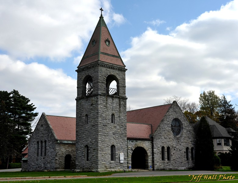 The Episcopal church in Lenox, MA..