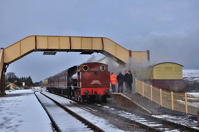 Snow on the Coity - PBR Santa's week 3 2011