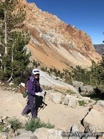 2019-08 (20-25)  North Lk, Muriel Lk, Desolation Lk, Four Gables summit and back