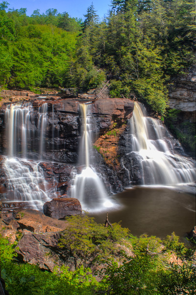 Blackwater Falls , West Virginia