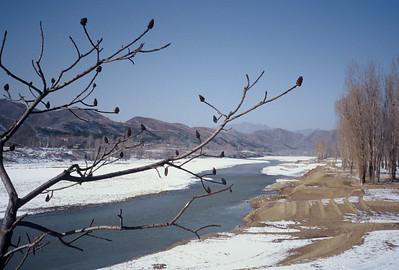 Great Wall at Simatai - January 1977 & 1998