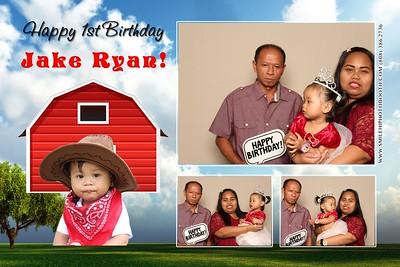 Jake Ryan's 1st Birthday