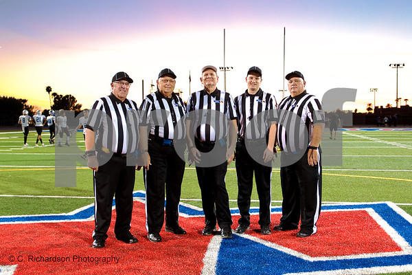 Officials Arcadia vs Mesquite 09-28-18