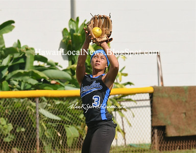 03-13-12 MOHS Girls Varsity Baseball & Kaimuki Bulldogs (2-5)