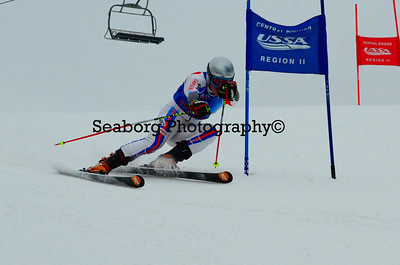 GS Race 1 Boys U16 & Older 2nd Run