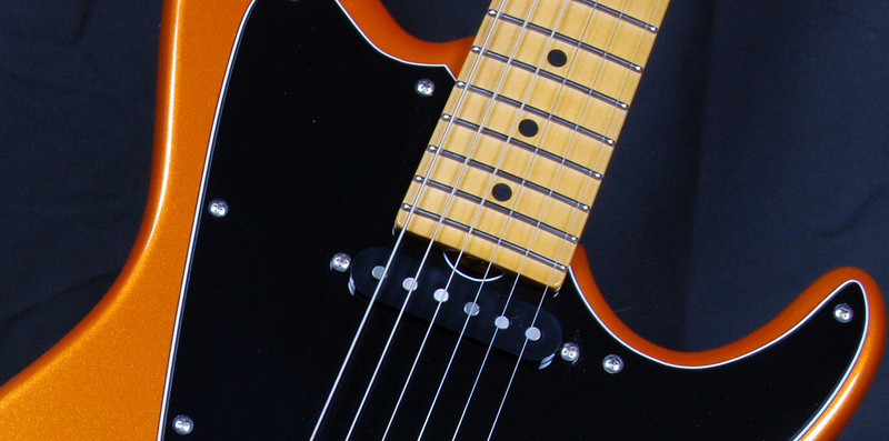 ElectraJet Custom, Sunburst Orange Pearl, G90/H Pickups