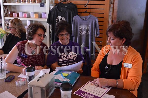 07-27-16 NEWS Alzheimer's Walk Committee Meeting