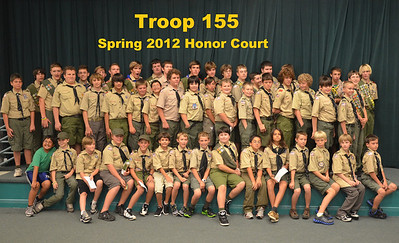 2012-05-31 Troop 155 Spring Honor Court