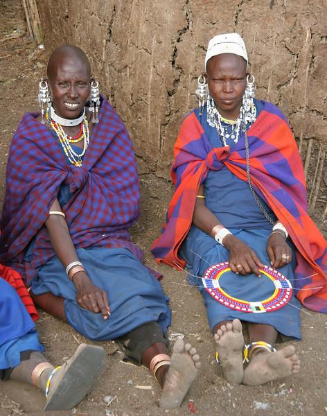 Masaii women