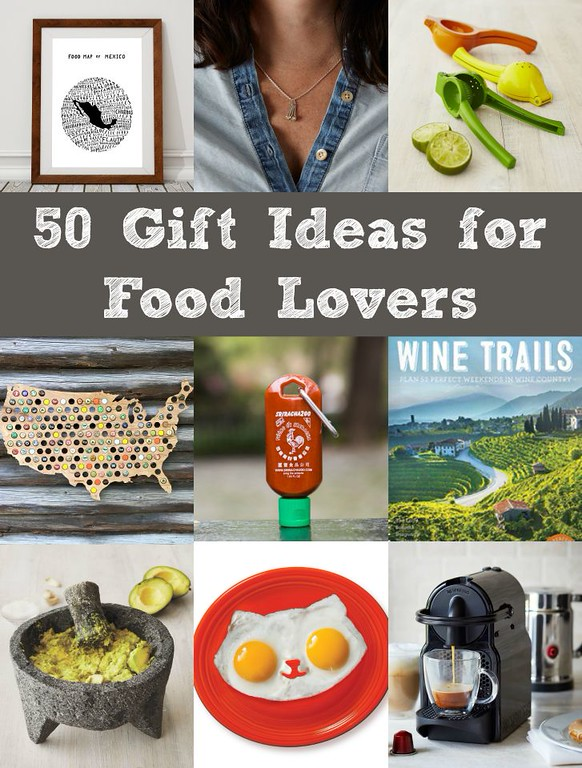 The Best Gift Ideas for Food Lovers: 50 gifts for foodies & adventurous eaters