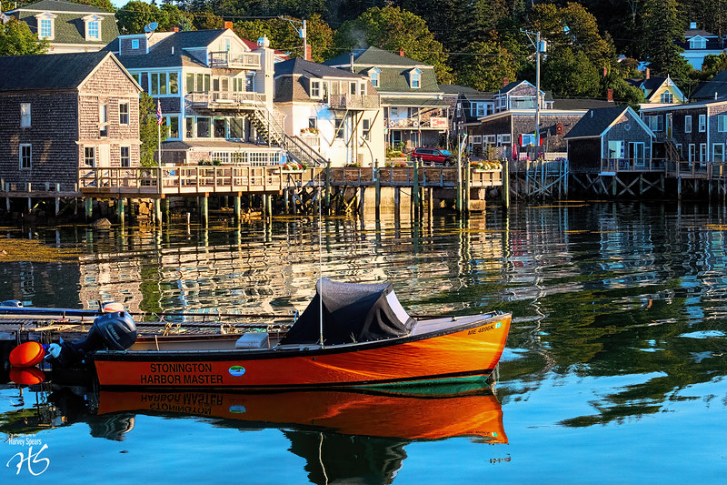 Calm & Stir in Stonington Harbor