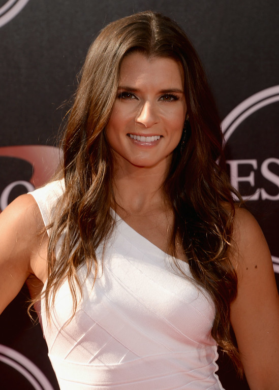 . LOS ANGELES, CA - JULY 16:  NASCAR driver Danica Patrick attends The 2014 ESPYS at Nokia Theatre L.A. Live on July 16, 2014 in Los Angeles, California.  (Photo by Jason Merritt/Getty Images)