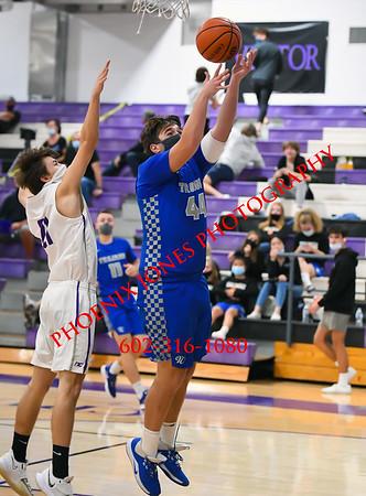 1-19-2021 - Northwest Christian vs Valley Christian - Boys Basketball