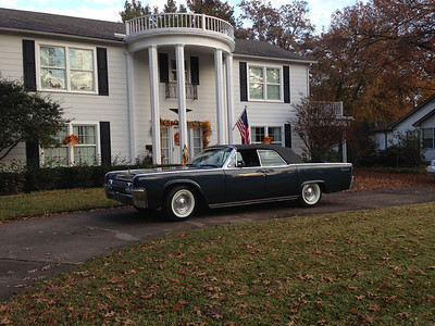 1963 Lincoln Convertible