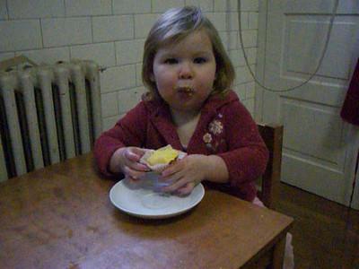 Emma muffin video 1-18-2009
