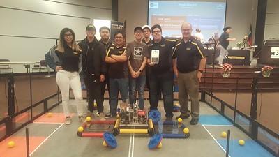2018 Robotics Team at USTEM Competition