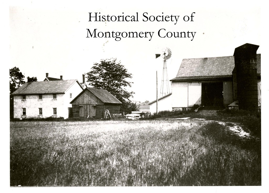 . This photo from the Historical Society of Montgomery County shows Murphy Farm, which was on Yost Road in Whitpain, in 1925.