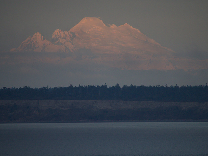 Mount Baker in majestic mode