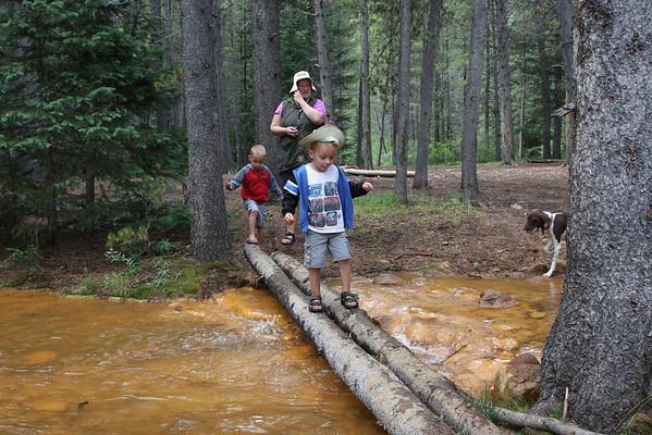 Geneva Creek Camping. August 2012