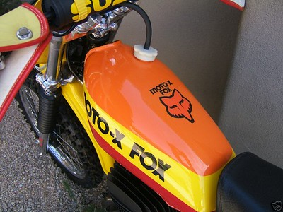 1978 Moto fox RM 400