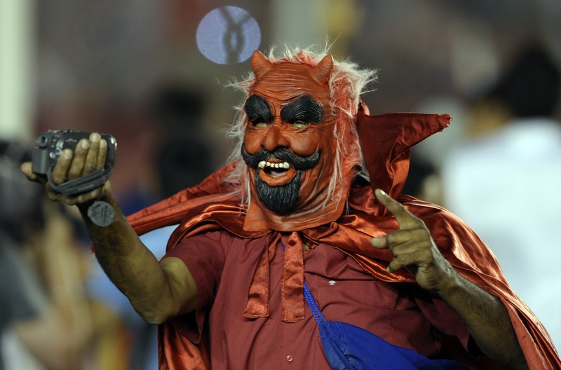 """. <p>3. THE DEVIL <p>New survey finds 57 percent of Americans believe in Satan, and 43 percent think he�s doing a great job as president. (unranked) <p><b><a href=\'http://washingtonexaminer.com/57-believe-in-the-devil-72-for-blacks-61-for-women/article/2536055\' target=\""""_blank\""""> HUH?</a></b> <p>    (Alejandro Pagni/AFP/Getty Images)"""