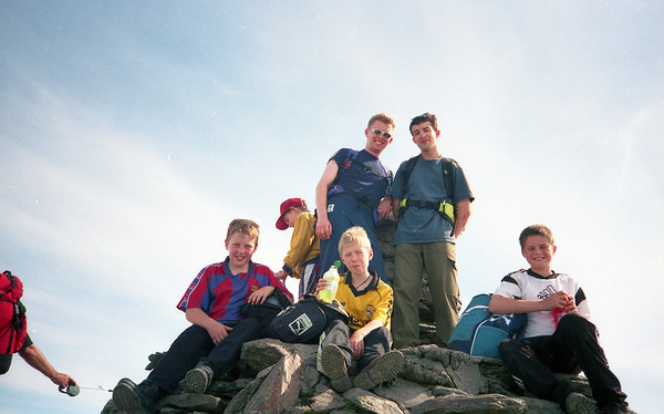 1999-09-02 Summer Camp - Hike up Snowdon