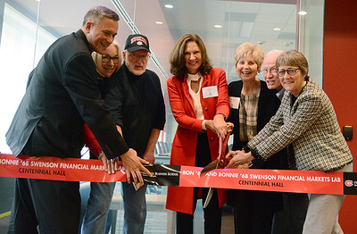 Dedication of the Ron '69 and Bonnie '68 Swenson Financial Markets Lab