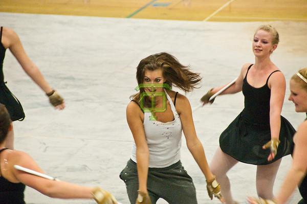 TOHS Winterguard - 2009 Show