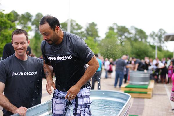 Baptism - April 2013 - First Service