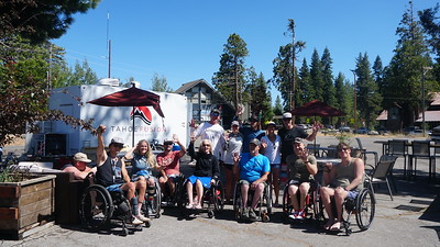Mobo Law Adaptive Boat Day on Lake Tahoe