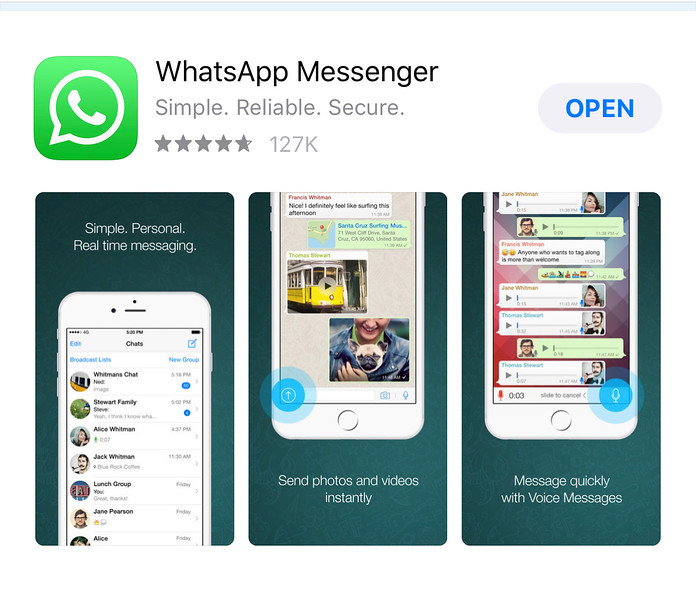 Using WhatsApp in an iPhone with eSIM