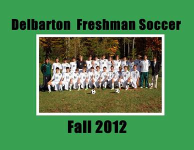 Freshman Soccer Yearbook 2012