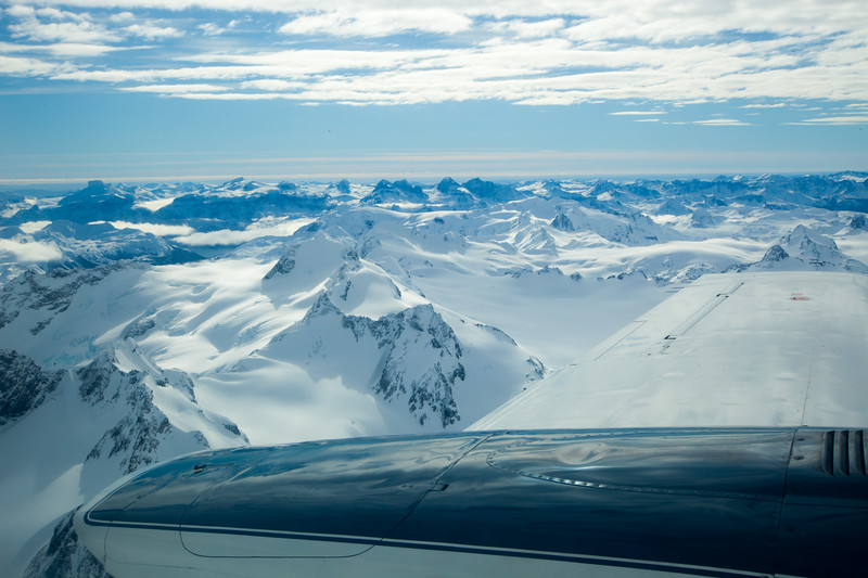 PUERTO WILLIAMS, CHILE - Group 3 (Clayton Anderson, Lynda Gregory, Cathy Brown, Eric Segalstad and Cameron Martindell) fly from Punta Arenas to the southern most commercial airstrip in South America for a snowshoe adventure.