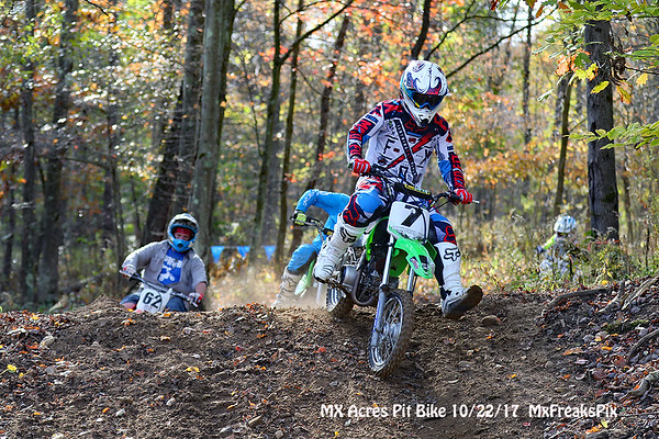 Mx Acres Pit Bike race. 10/22/17