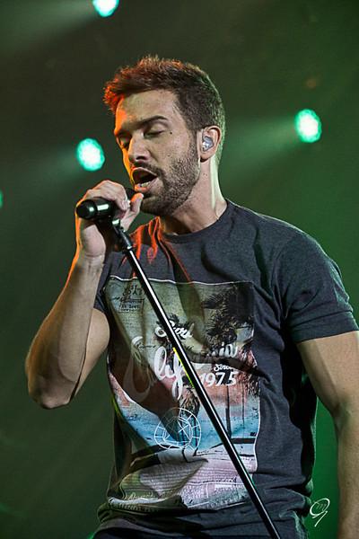 Pablo Alborán en concierto, Málaga a 06/06/2015