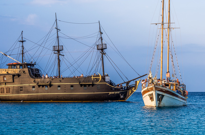 Black Pearl near Protaras