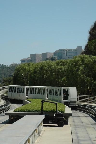 Tram to Getty Center
