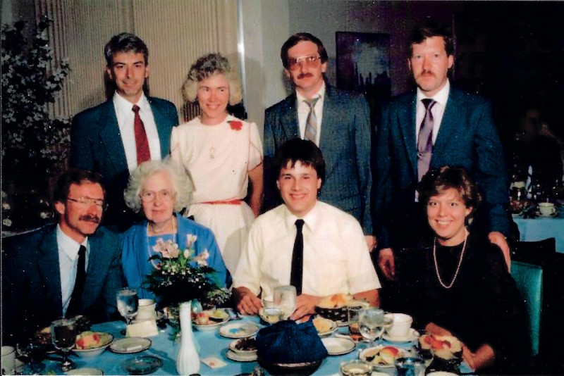 Some folks that Mark might recognize going way back.  Joe Venerus, Maryjo Venerus, Dan Lynch, Tom VanEtten, Ken Griep, Judy Buckley, Ed Razz and Tom's wife (forgot her name).