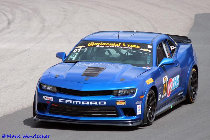 6th GS Eric Curran/Lawson Aschenbach Camaro Z/28.R